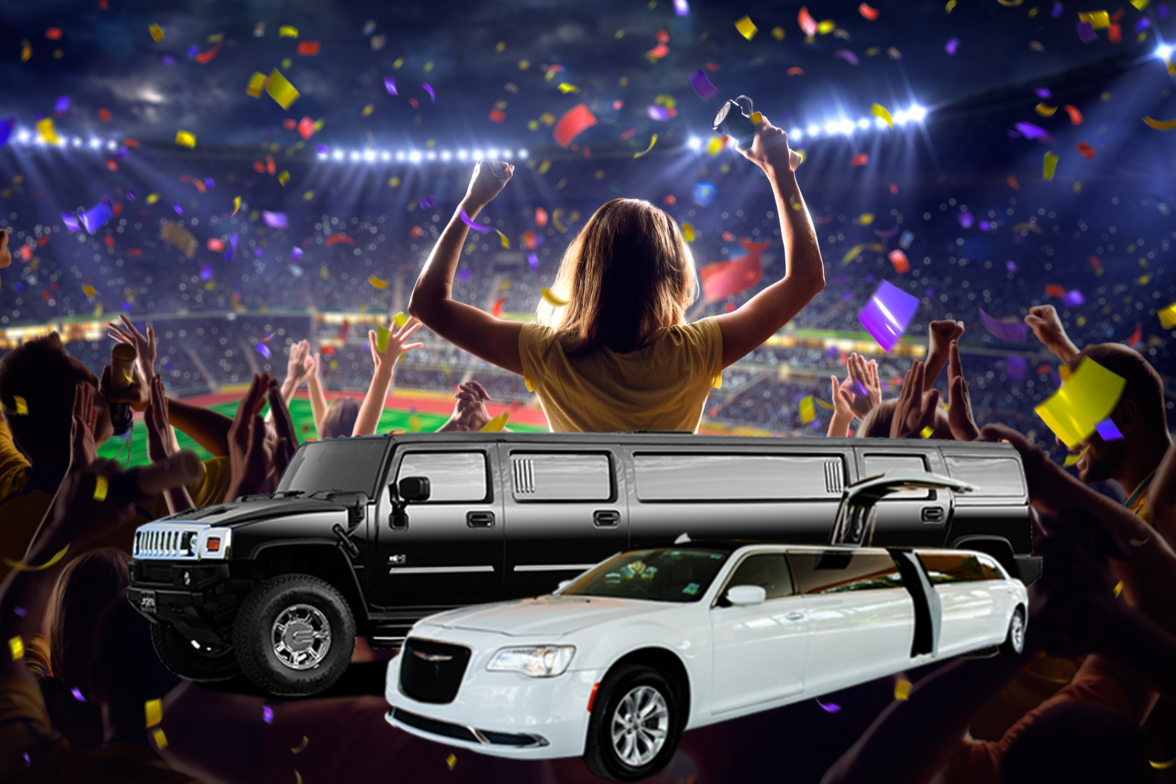 MAKE THE MOST OF CLASSY  EVENT LIMOUSINE SERVICES